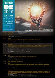 Programme Forum CB 2019