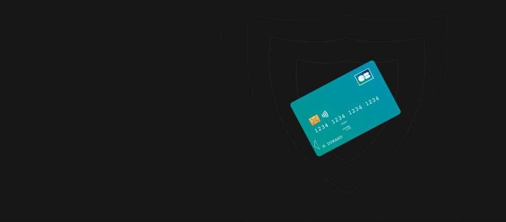 Bouclier et carte bancaire